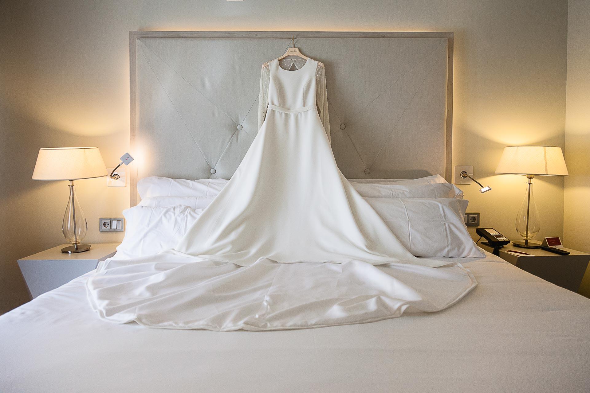 Vestido de Estela Garro Gran Hotel