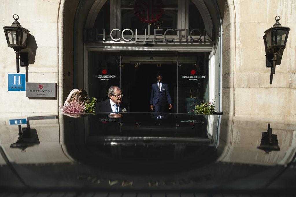 Fotografia de Boda en Gran Hotel Zaragoza Preparativos Novia