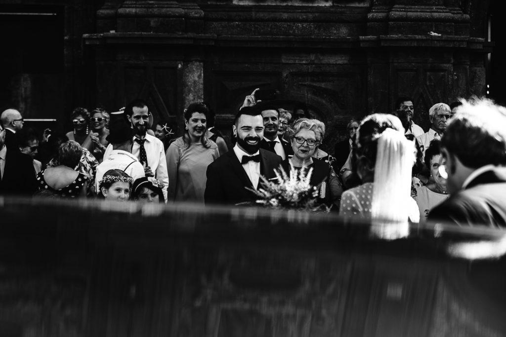 Fotografia de Boda en San Cayetano Zaragoza Ceremonia LLegada