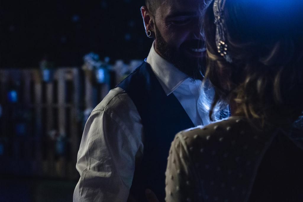Boda Soto del Bruil Zaragoza Baile novios Sonrisa