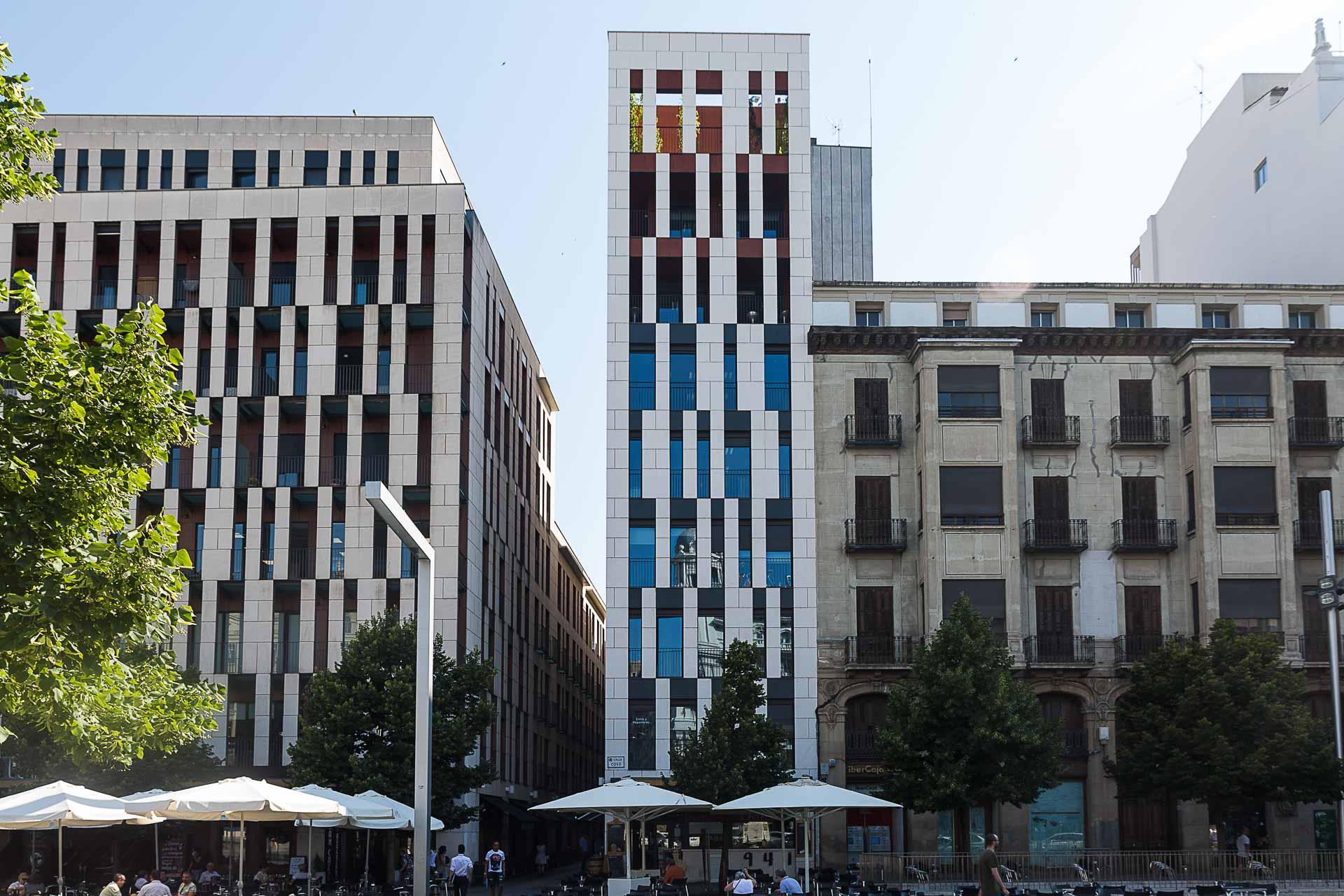 Fotografia arquitectura fachada Brexia Legal