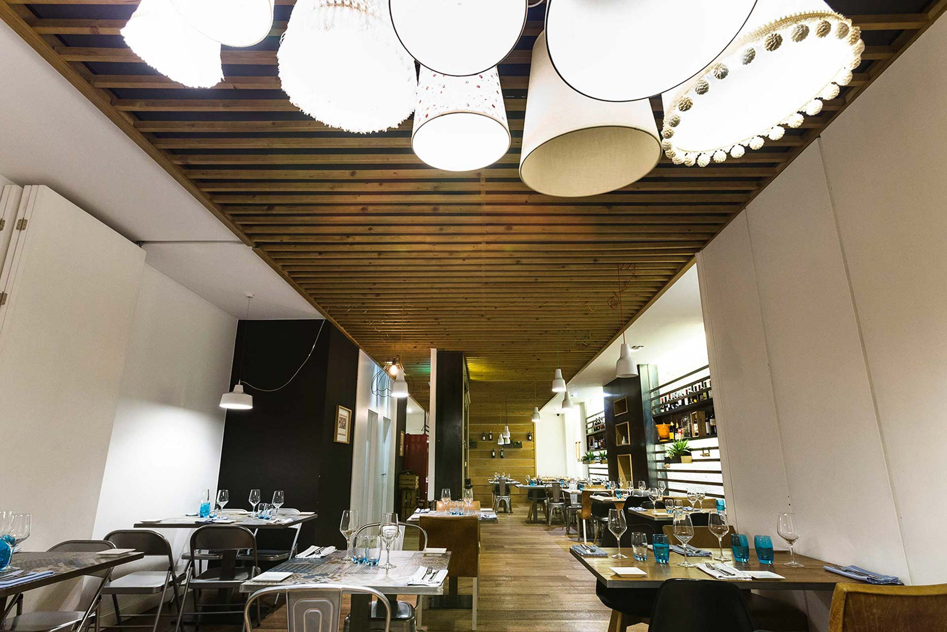 Bula Restaurante Zaragoza Fotografia Gastronomica Decoracion interior