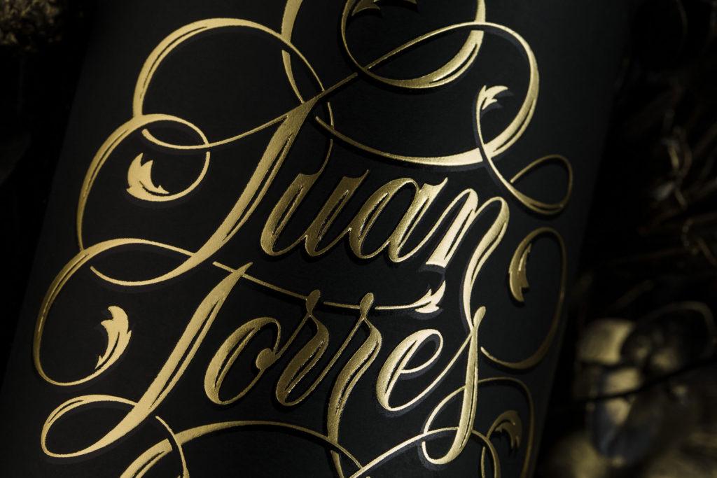Detalle Lettering Juan Torres