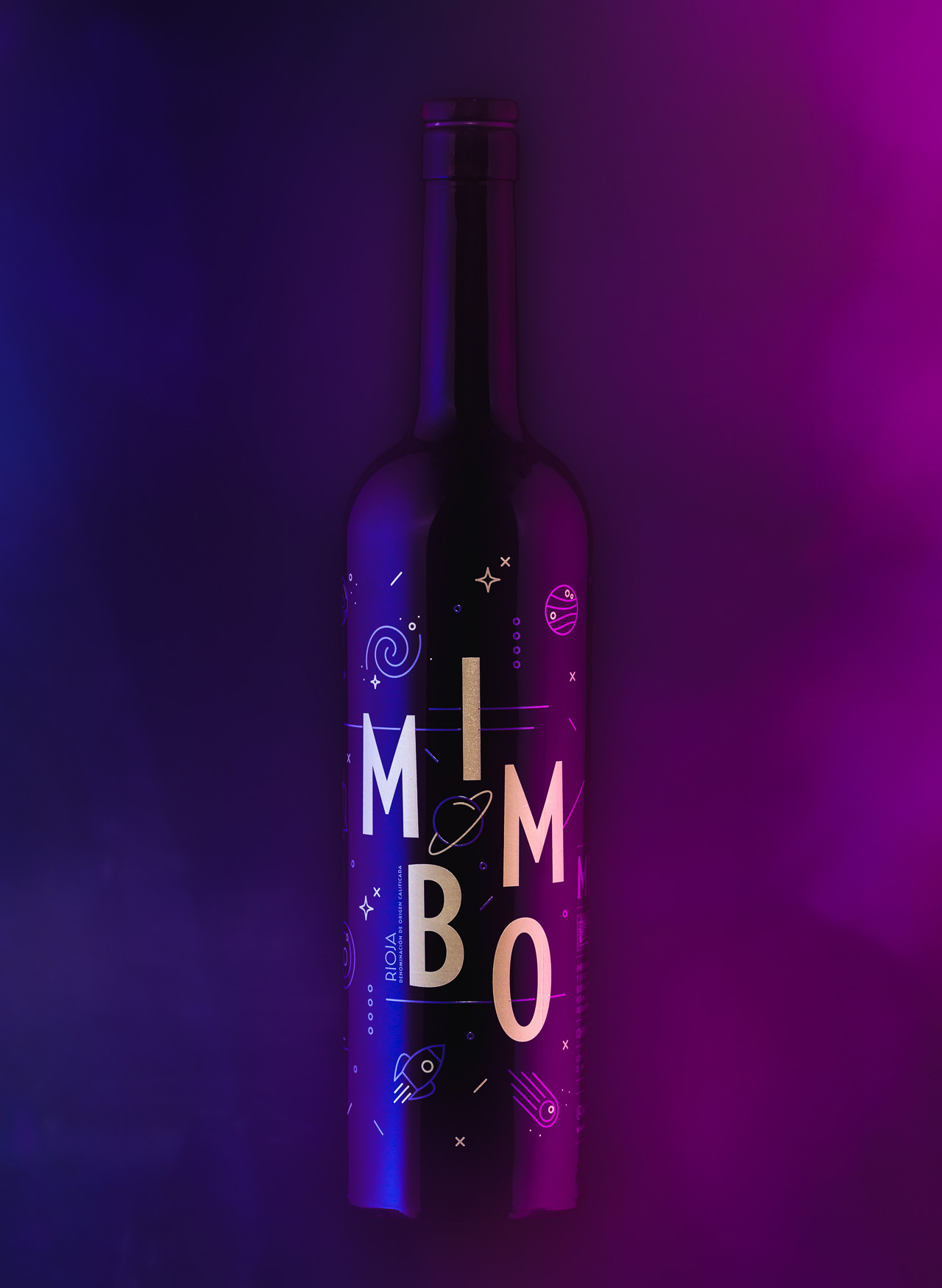 Fotografia de Producto Zaragoza Publicidad Vino Mimbo Botella