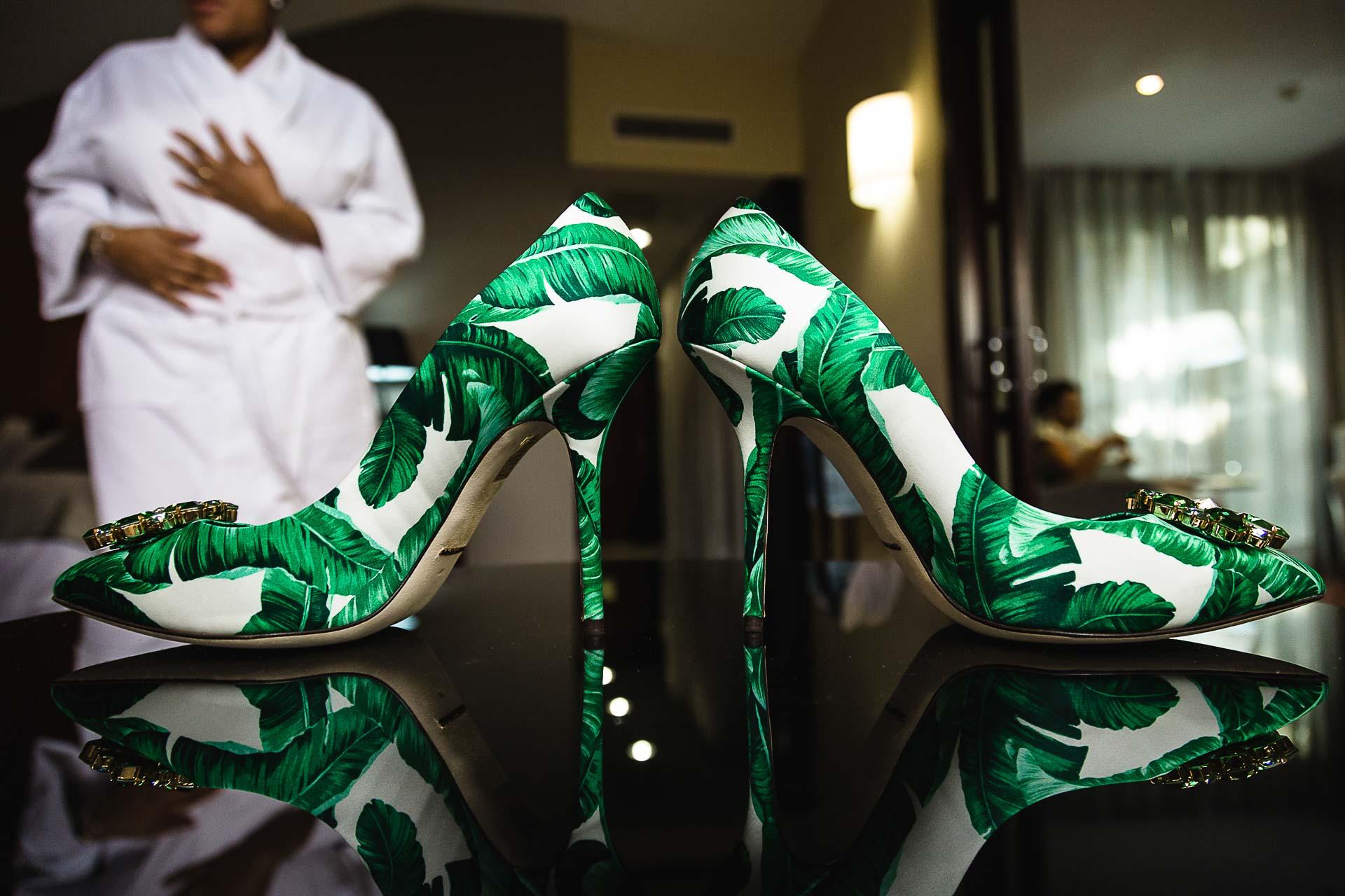 Boda Preparativos Zapatos novia Zaragoza
