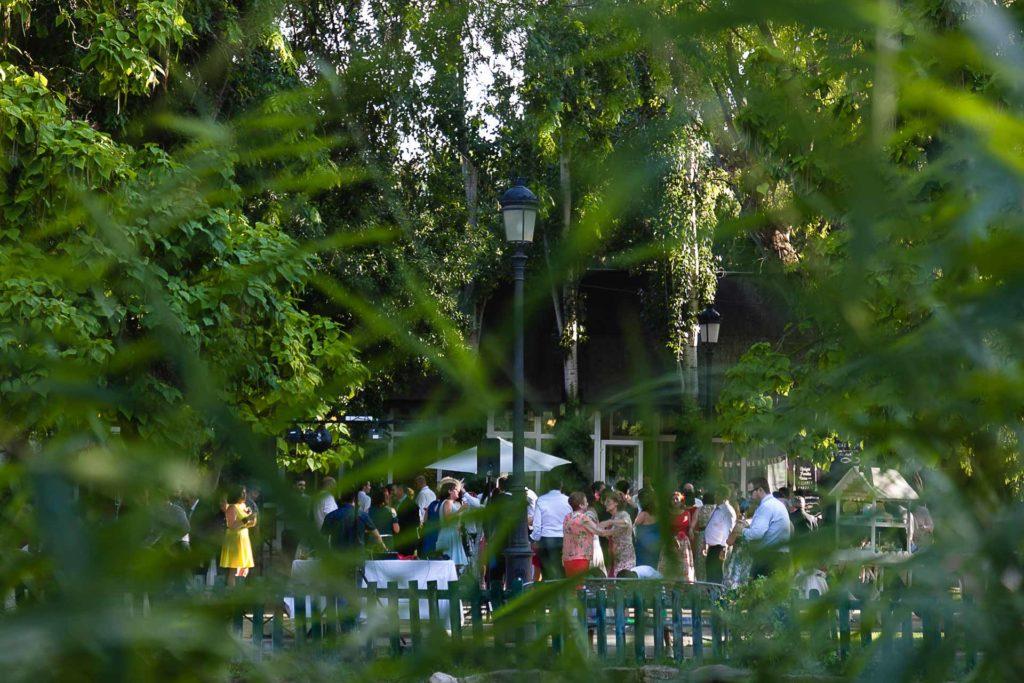 Boda Finca La Quinta Zaragoza Baile Invitados