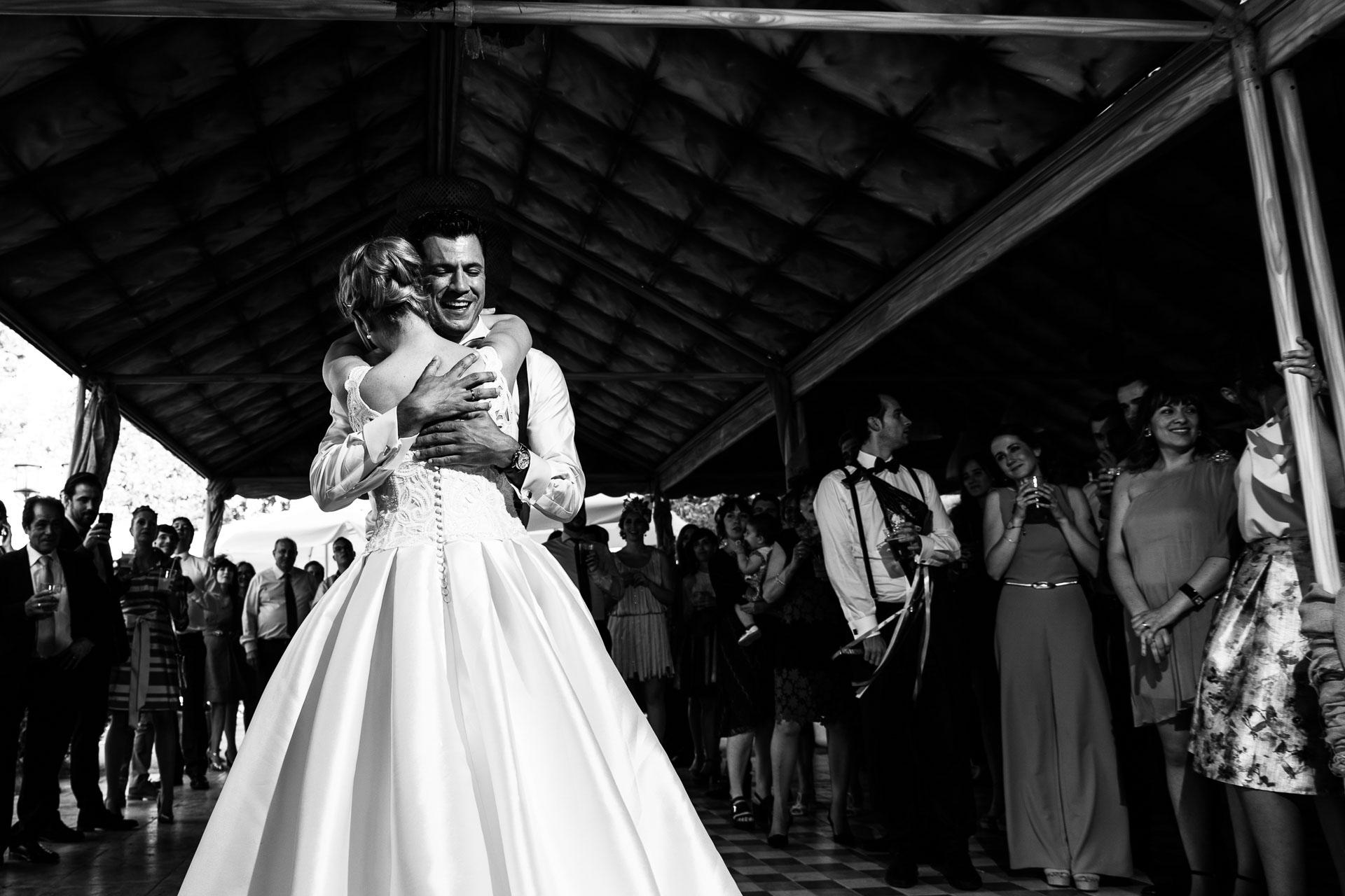Boda Finca Insula Barataria Zaragozsa Baile de novios
