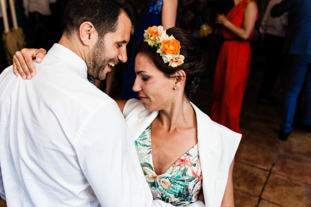 Boda Finca Insula Barataria Zaragozsa Fiesta Bailar Flores