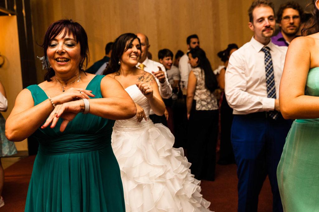 Boda Hotel Alfonso Zaragoza Fiesta Bailar