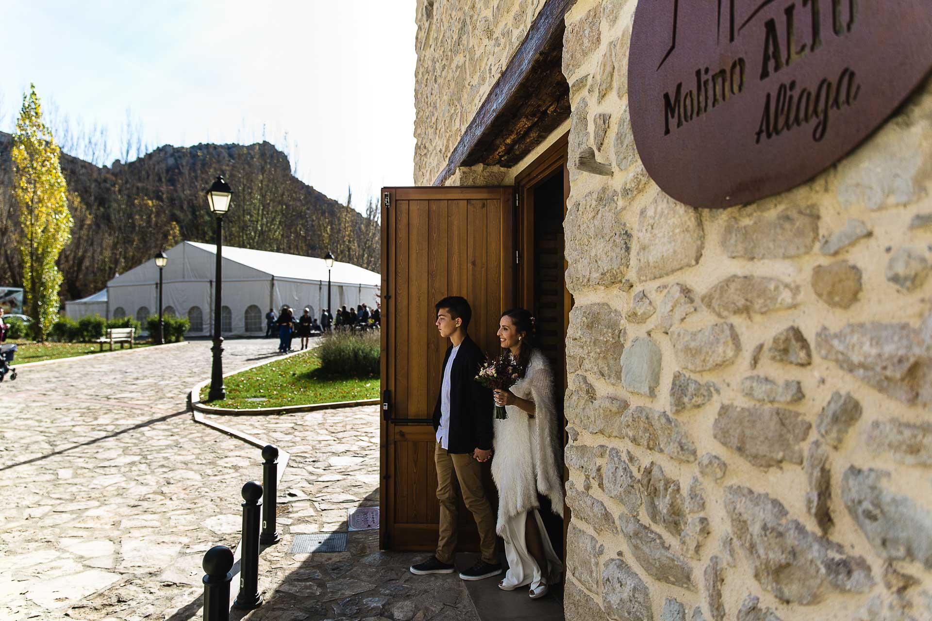 Boda en el Molino Alto, Aliaga, Teruel Novia