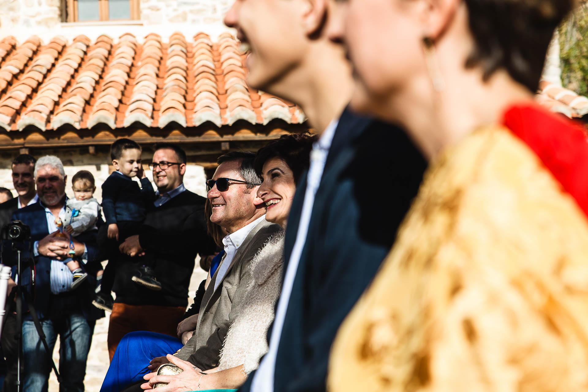 Boda en el Molino Alto, Aliaga, Teruel Ceremonia