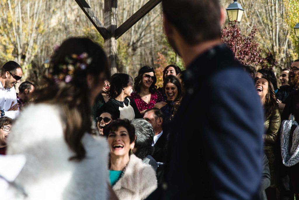 Boda en el Molino Alto, Aliaga, Teruel Ceremonia Amiga