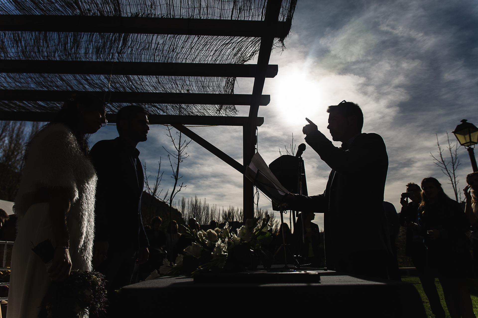 Boda en el Molino Alto, Aliaga, Teruel Ceremonia Lectura