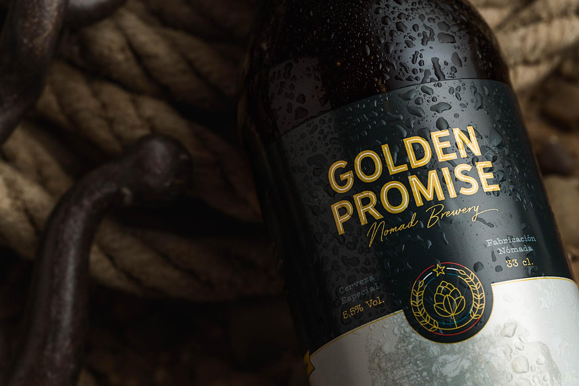 Fotografia de Producto Zaragoza Publicitaria Golden Promise logo