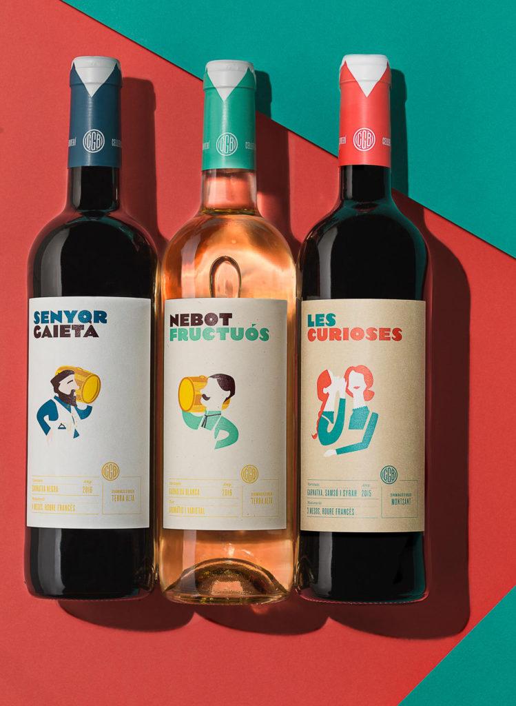 Fotografia de Producto Publicitaria Zaragoza Tres Botellas