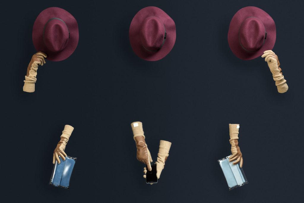 Fotografia de Producto en Zaragoza para Lanamint movil azul